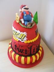 bazinga-18th-cake