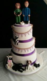 Wedding cake farmer