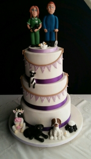 Wedding cake farmer
