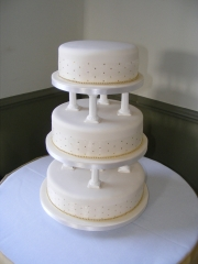 Column-Wedding-cake