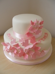 pink-butterfly-wedding-cake