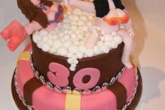 Hot Tub Fun Cake
